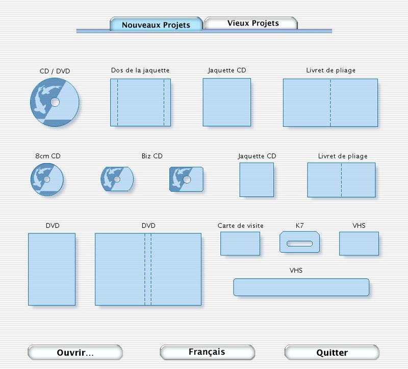 Créer rapidement une jaquette <b>CD</b>/DVD - Word 2007 et 2010