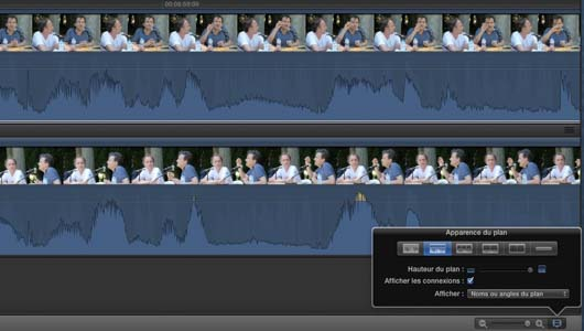 FCPX ondes audio