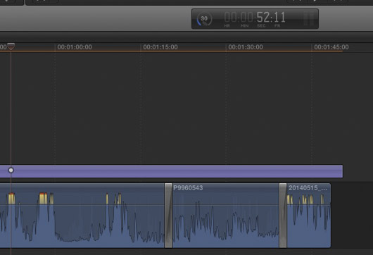 rendu time-line proxy FCPX