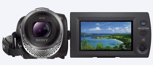 Le HDR-PJ330 existe aussi sous la référence HDR-CX330. Il s'agit