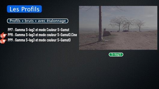 Tuto Sony AX700, NX80, Z90 : Picture Profile et Gamma HLG en vidéo
