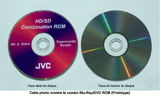 jvc d veloppe le 1er disque combinant blu ray dvd rom actus vid o forums magazinevideo com. Black Bedroom Furniture Sets. Home Design Ideas