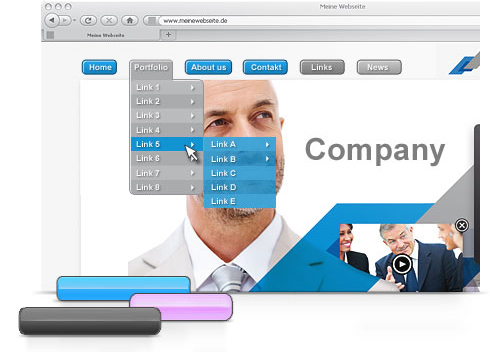 MAGIX Website Maker MX, le cr�ateur de sites Web