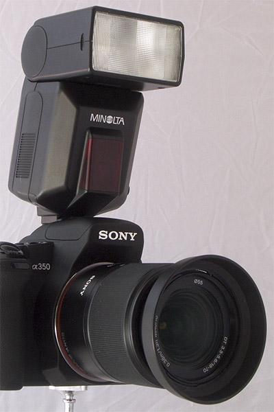 Test Sony Alpha 350 - Test - MAGAZINEVIDEO.COM