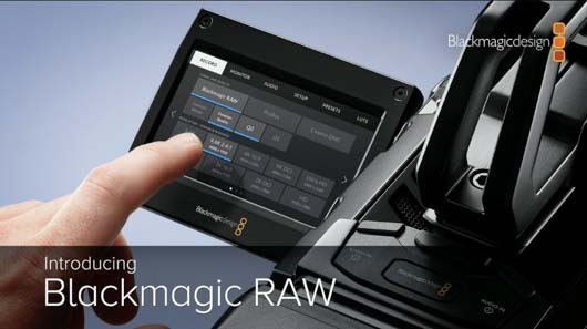 Blackmagic RAW