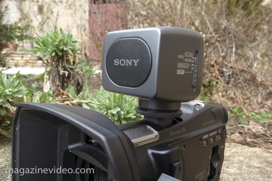 test Sony HDR-CX700