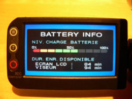 battery info Sony DCR-DVD403