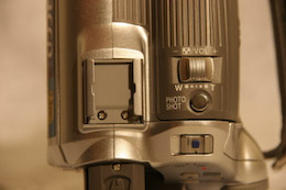 Panasonic NV-GS180 griffe