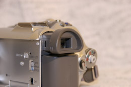 Panasonic NV-GS180 viseur