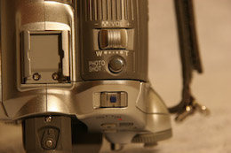 Panasonic NV-GS180 zoom
