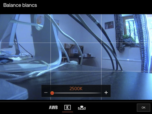 balance des blnacs HDR-AS200