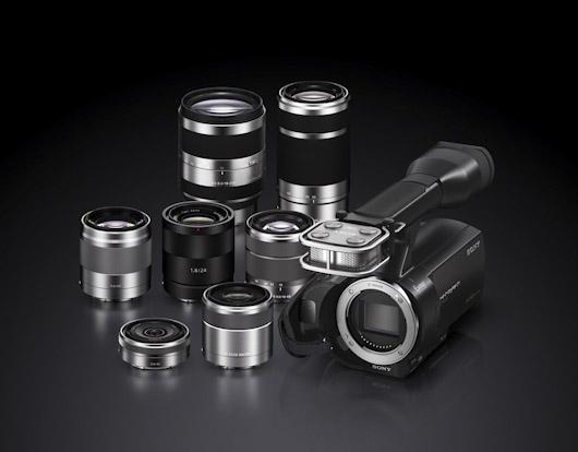 Sony nex vg20e test magazinevideo com for Objectif miroir 50mm