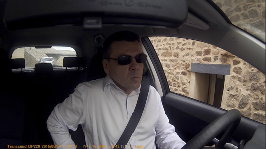 dashcam conducteur