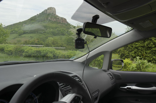 Dashcam transcend