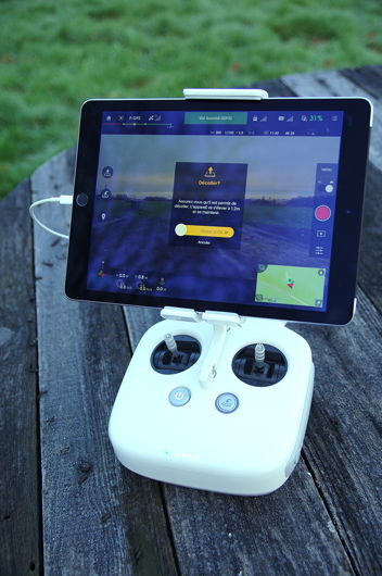 DJI Raidoo Ipad