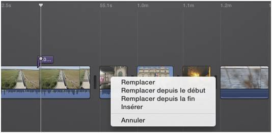 imovie 10 insertion