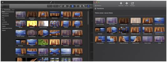 Imovie 10 transitions