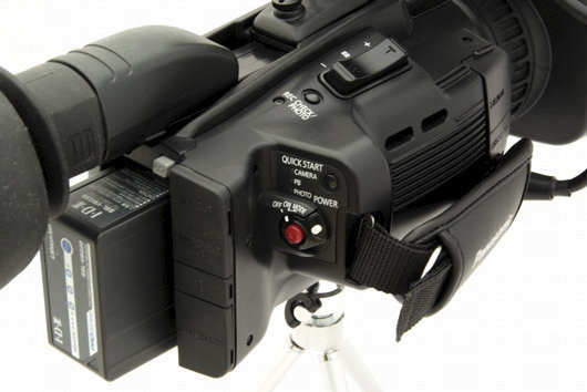 Panasonic AG-HMC41 - test -