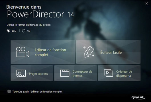 interface PowerDirector