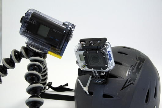 ActionCam contre GOPro Hero 3