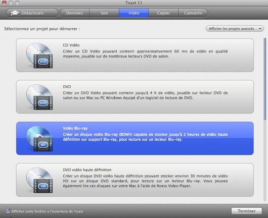 logiciel gravure bluray pour mac